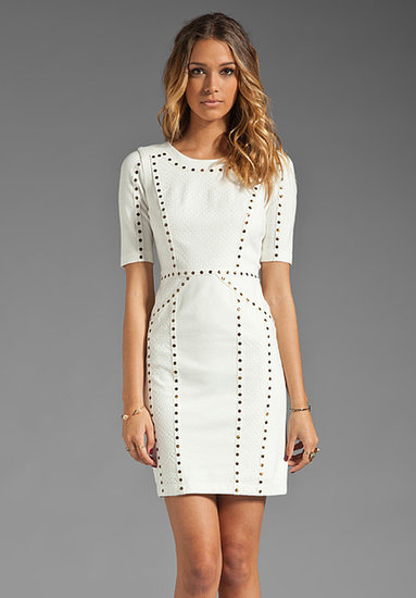 BCBGMAXAZRIA Short Sleeve Dress