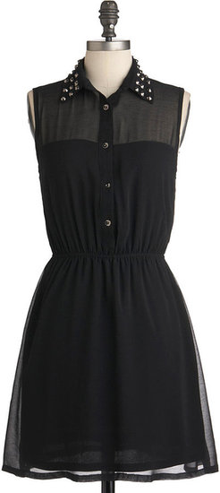 As Noir as Im Concerned Dress