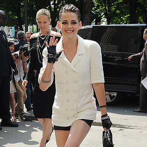 Kristen Stewart Tattoo Pictures at Chanel Show in Paris