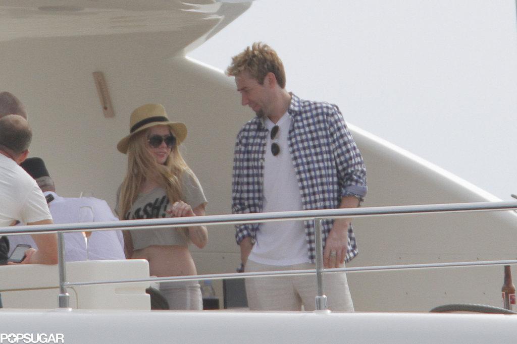 Avril Lavigne Marries Chad Kroeger in a Black Wedding Dress!