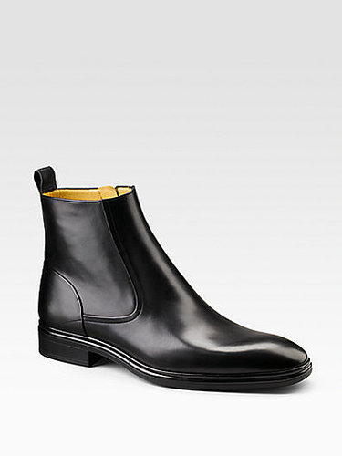 Dress Leather Ankle Boots