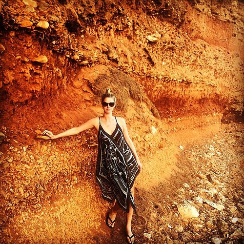 Nicky Hilton shared this cool snap from her recent vacation in Greece. Source: Instagram user nickyhilton