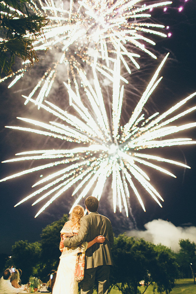 This Texan backyard bash went off with a bang! Photo by Jess Barfield Photography via