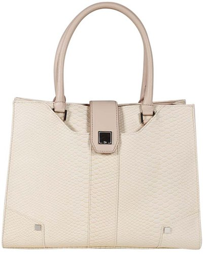 Remi Tote in Ivory
