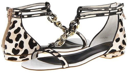 Truth or Dare By Madonna - Evelot (Black/White/Leopard Pony) - Footwear