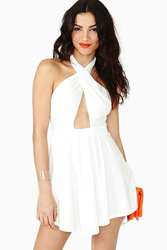 Summer Heat Halter Dress
