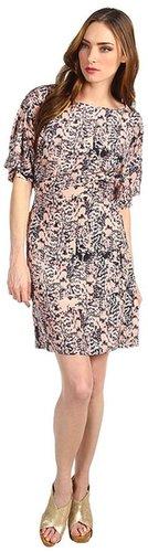 See by Chloe - S/S Waist Intake Back Detail Dress (Multi) - Apparel