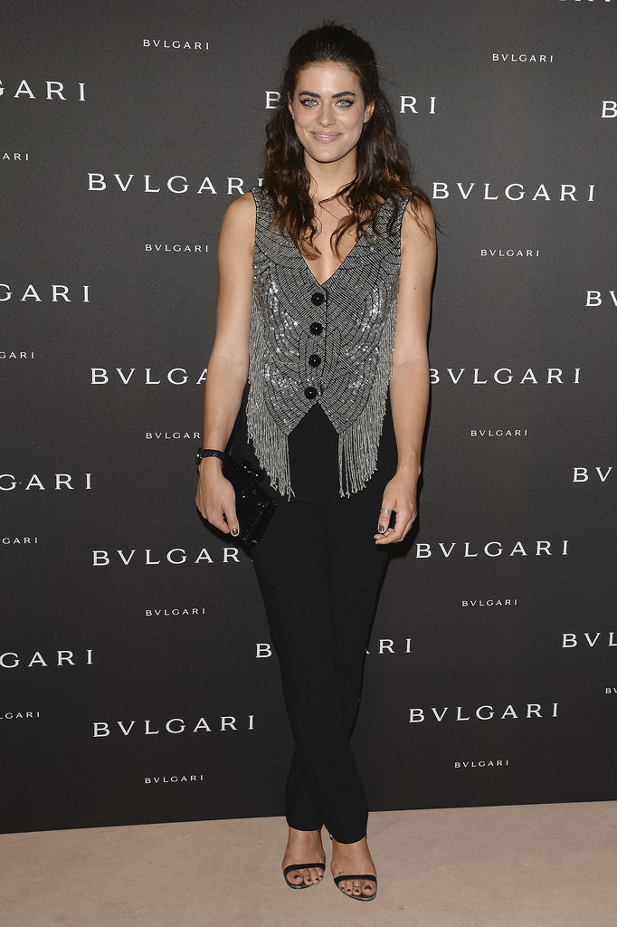 Alyson Le Borges at the unveiling of the Bulgari Diva fine jewelry collection in Paris.  Photo courtesy of Bulgari