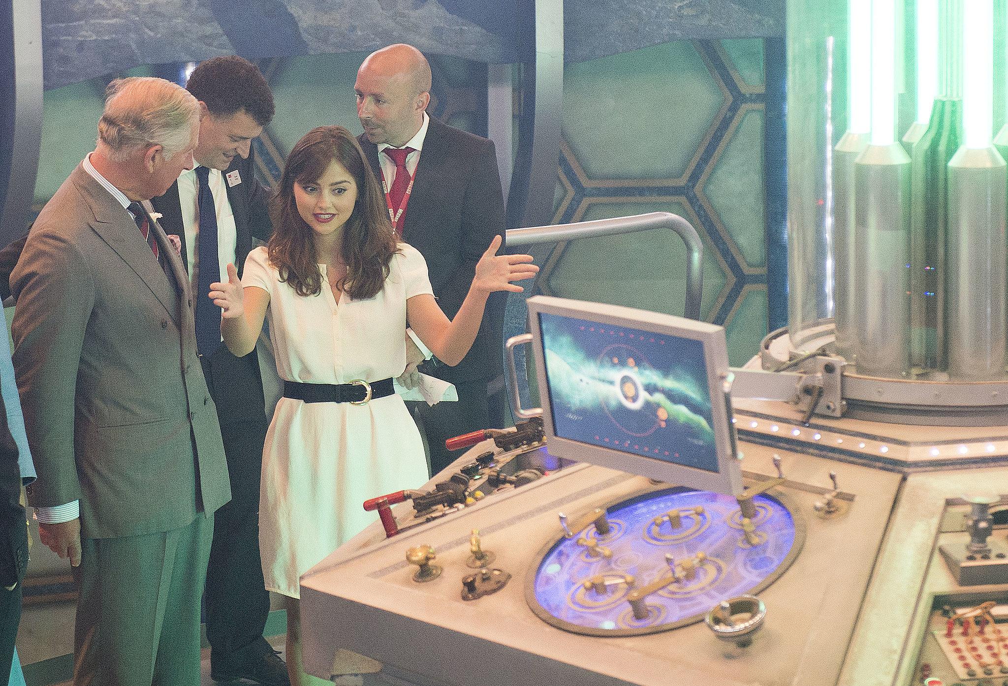 Talking sonic screwdrivers in the TARDIS.