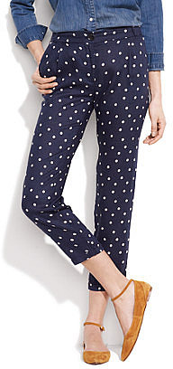 "Sessùn&TM polka-dot ""memory house"" trousers"