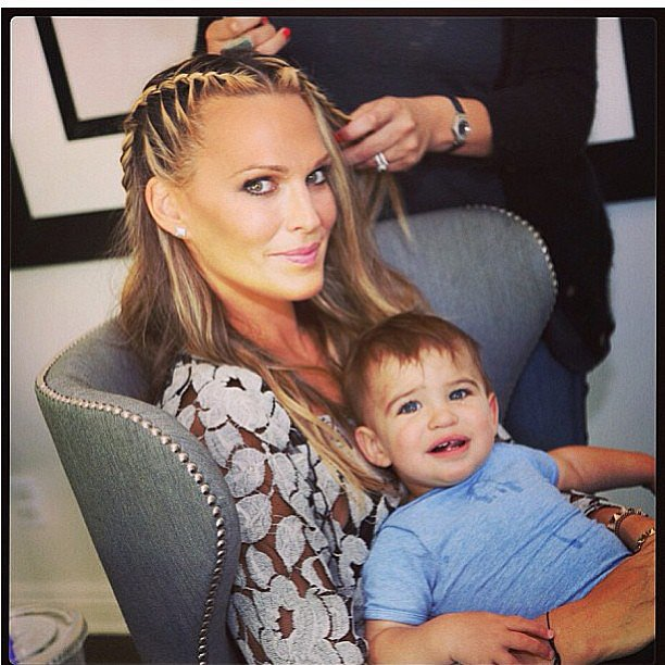 Molly Sims on instagram