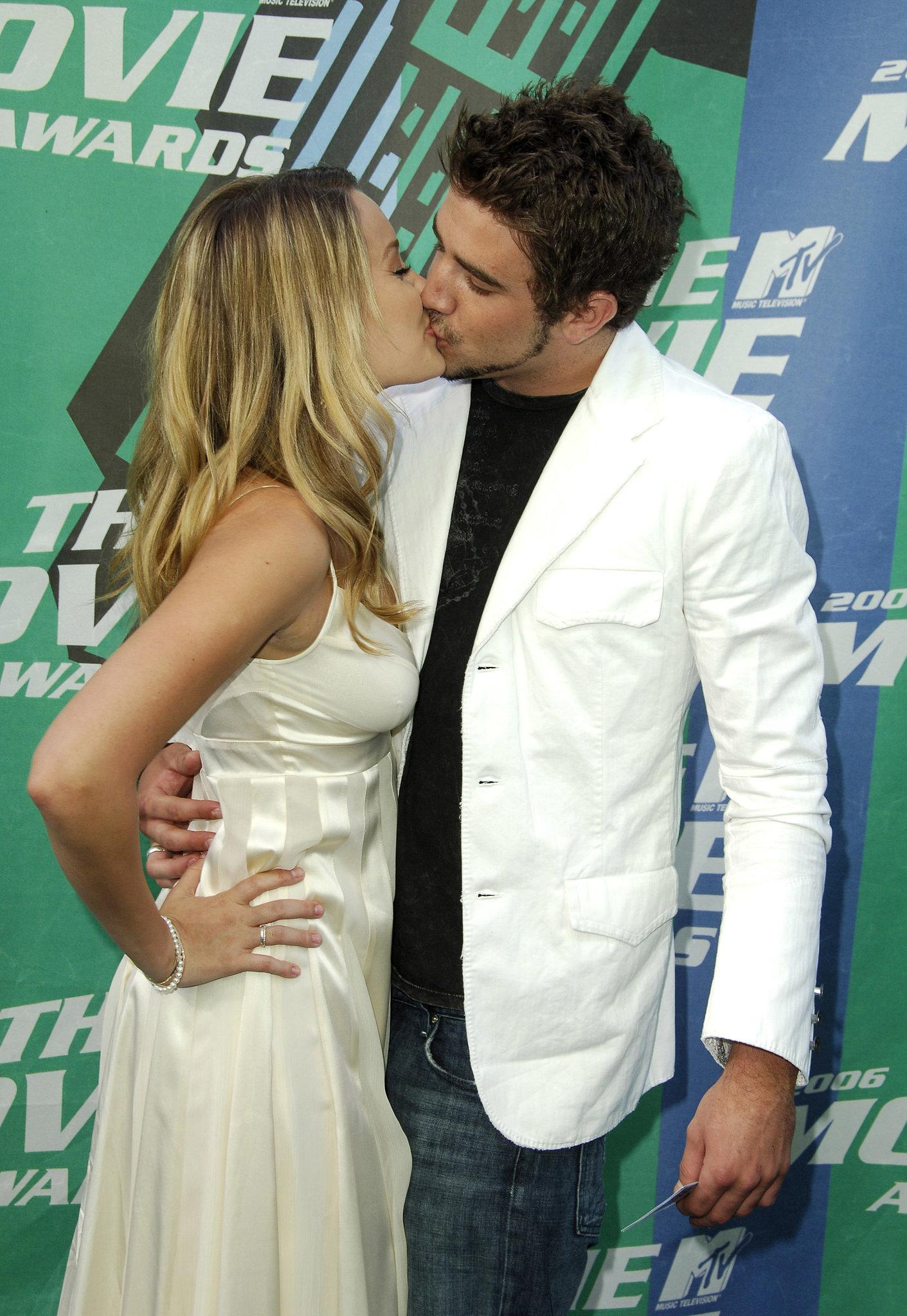Lauren Conrad kissed Jason Whaler at the 2006 MTV Movie Awards.