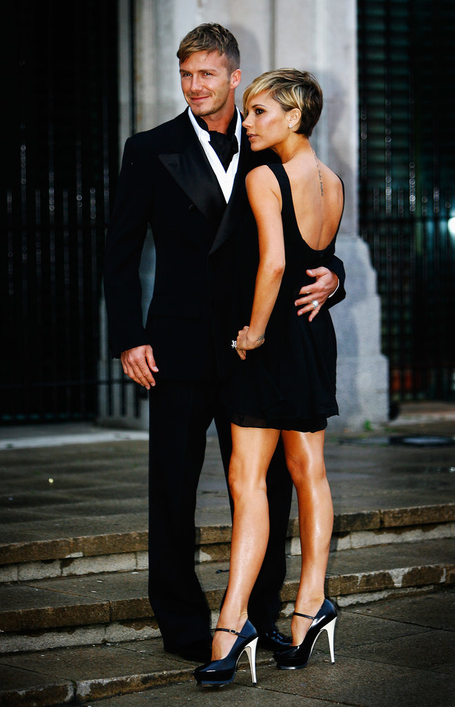 David and Victoria struck a pose at the Sport Industry Awards in London in March 2007.