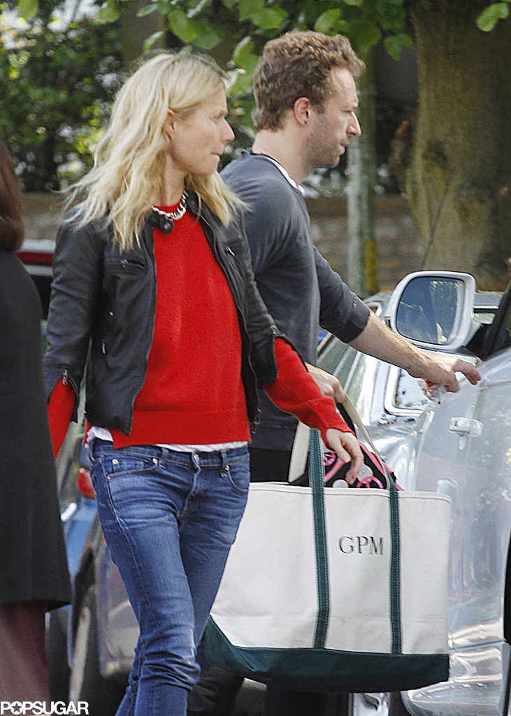 """Gwyneth Hangs With Her """"Best Decision"""" Chris Martin"""