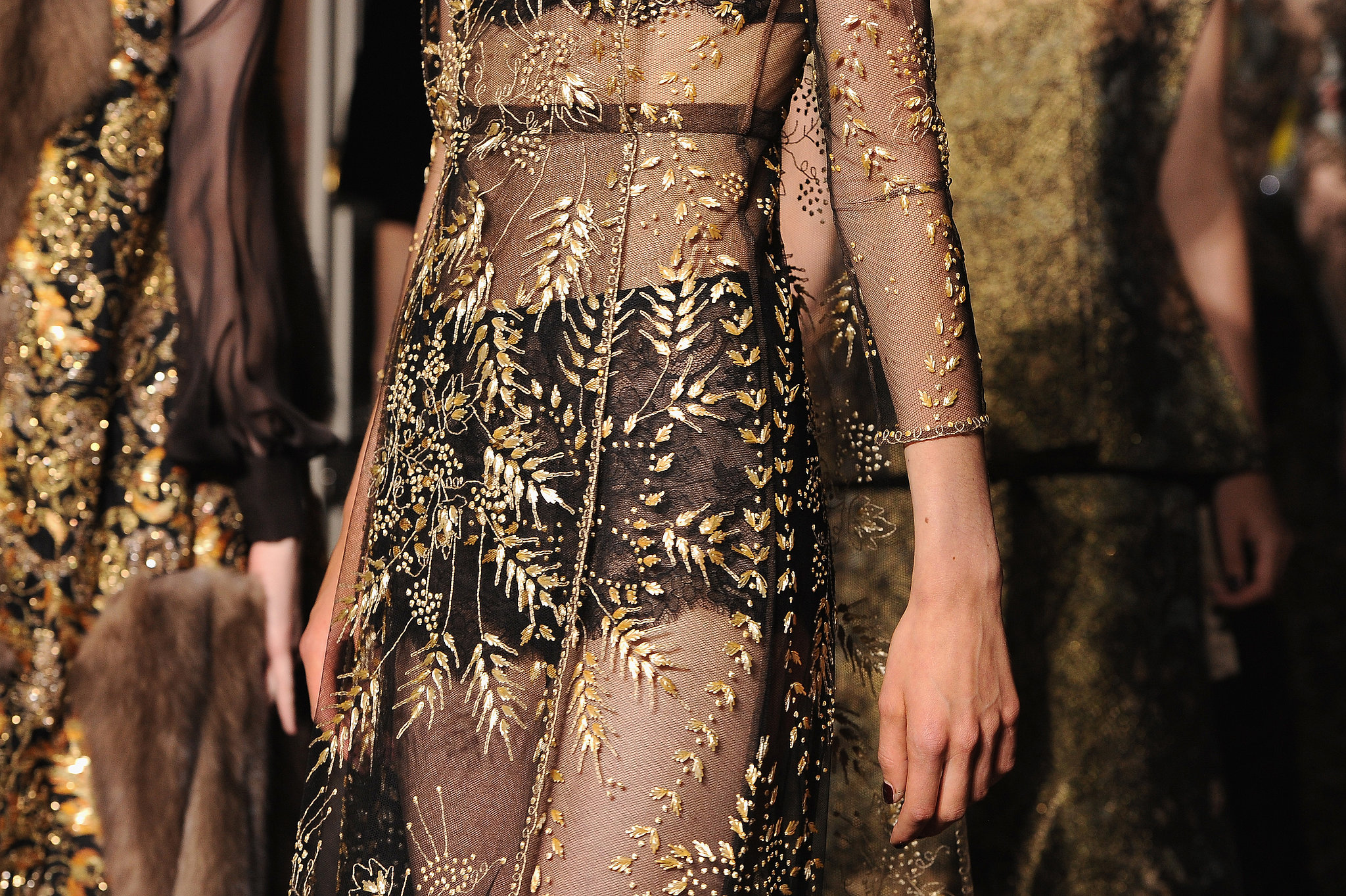 Valentino defined sheer perfection on the haute couture for Haute couture definition