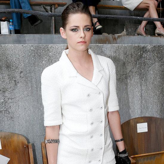 Celebrities at Paris Haute Couture Fashion Week Shows 2013
