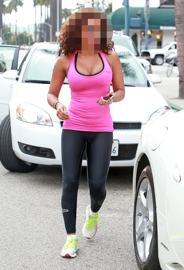 Guess Which Singer Was Looking Spicy in Workout Wear?