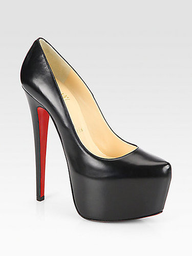 Christian Louboutin Daffodile Leather Platform Pumps