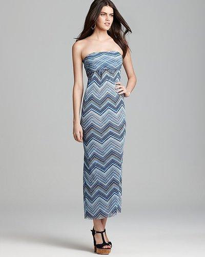 Quotation: Sweet Pea Maxi Dress - Chevron Stripe