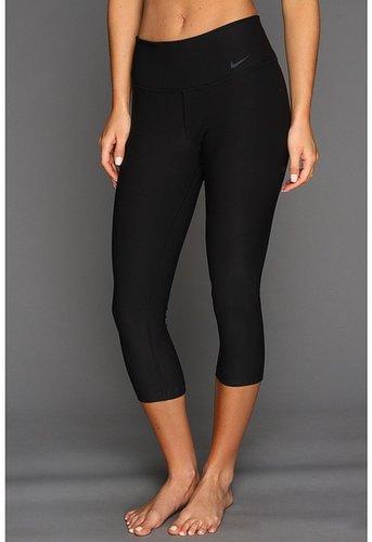 Nike - Legend 2.0 Tight Poly Capri (Black/Cool Grey) - Apparel