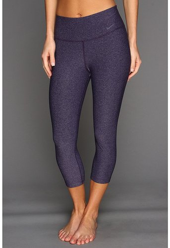 Nike - Legend 2.0 Tight Poly Capri (Grand Purple Heather/Cool Grey) - Apparel