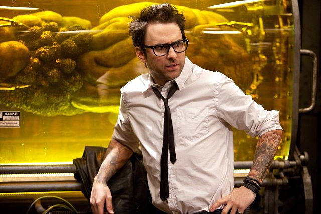 Charlie Day in Pacific Rim.