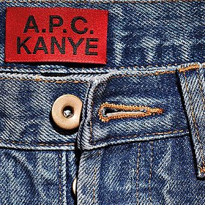 Kanye West Confirms Denim Fashion Collaboration with APC