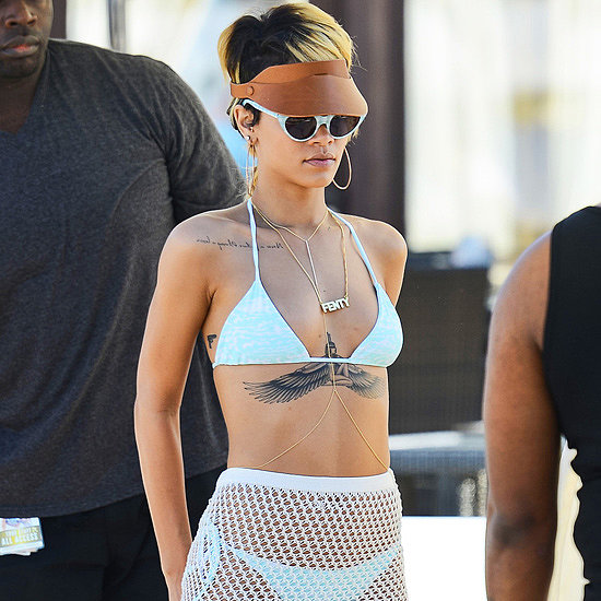 Rihanna Wearing a Bikini in Poland | Pictures