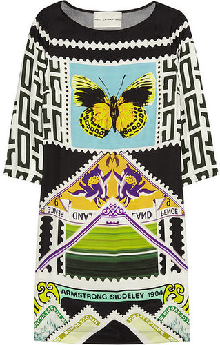 Mary Katrantzou Teleport silk crepe de chine dress