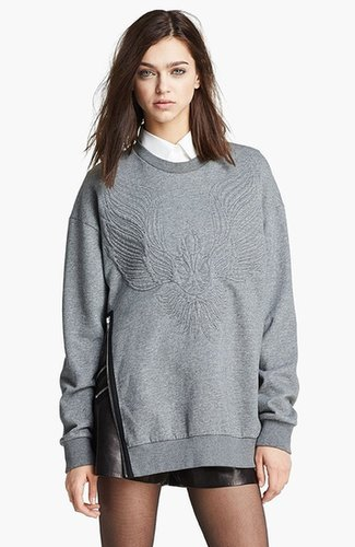 3.1 Phillip Lim Quilted Phoenix Oversized Sweatshirt