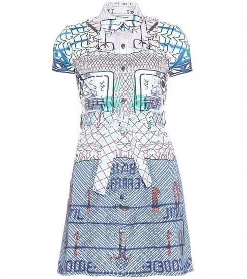 Mary Katrantzou Current/Elliott ASHDALE PRINT SHIRT DRESS