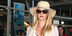 Touch Down! Rosie Huntington-Whiteley Lands in Oz For Model Co