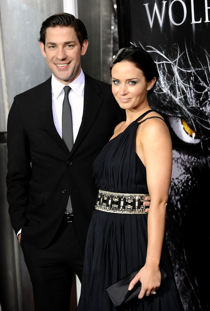 John suited up to support Emily at the LA premiere of The Wolfman in Feb. 2010.