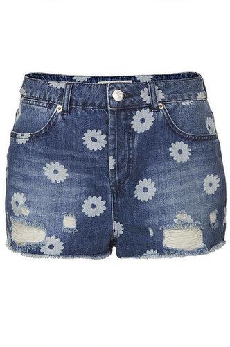 MOTO Daisy Ripped Hotpants