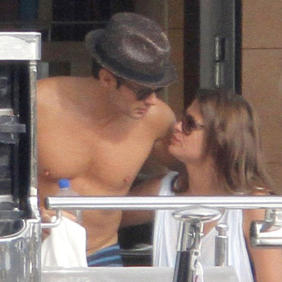 Ryan Seacrest Shirtless With Dominique Piek   Pictures