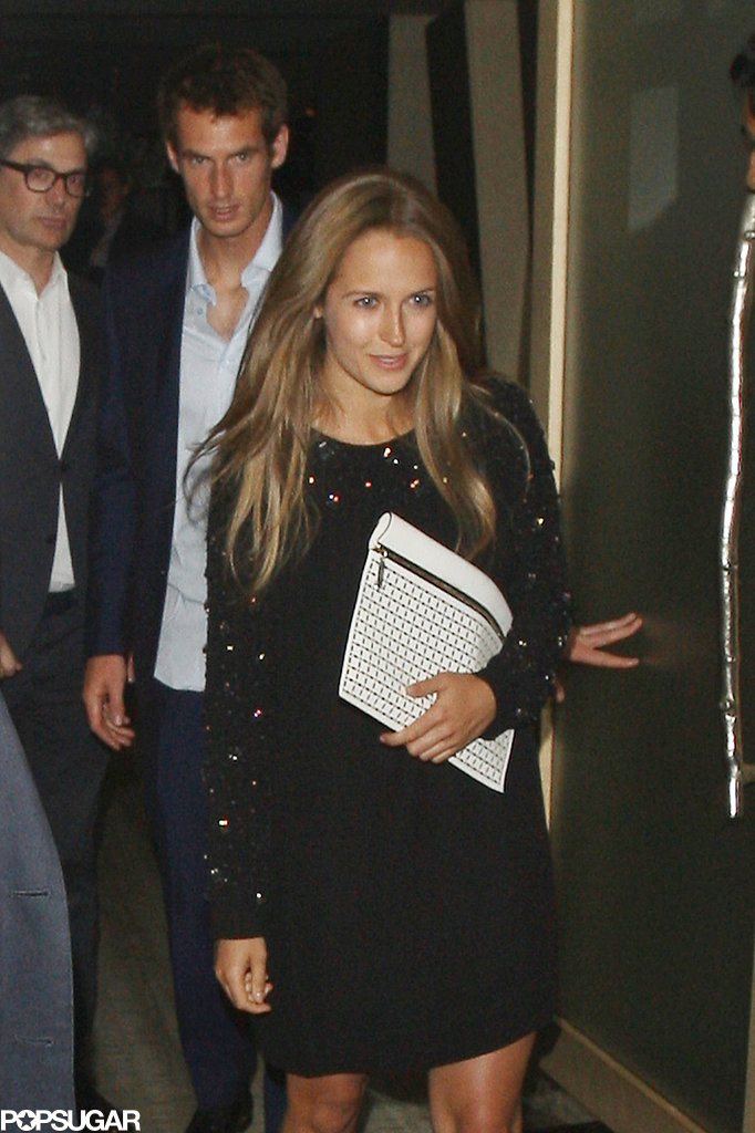 Andy Murray and Kim Sears got dinner at Nobu.