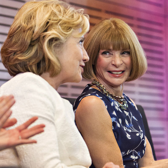 Hillary Clinton, Anna Wintour at Oscar de la Renta Exhibit