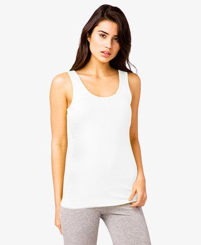 FOREVER 21 Basic Scoop Neck Tank