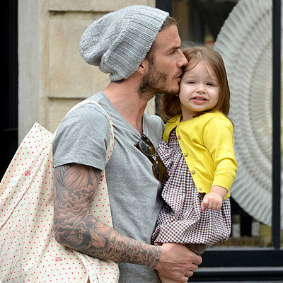 Cutest Beckham Family and Baby Pictures