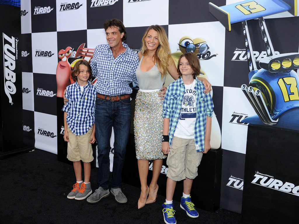 Blake Lively hit the black carpet with her brother, Jason Lively, and his family.