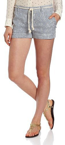 Michael Stars Women's Stripe Linen Short