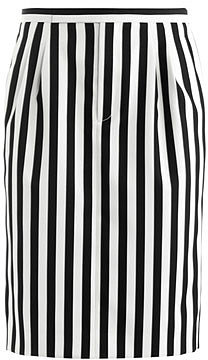 Marc Jacobs Stripe techno-twill skirt