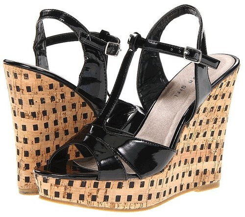 Madden Girl - Wickerrr (Black Patent) - Footwear