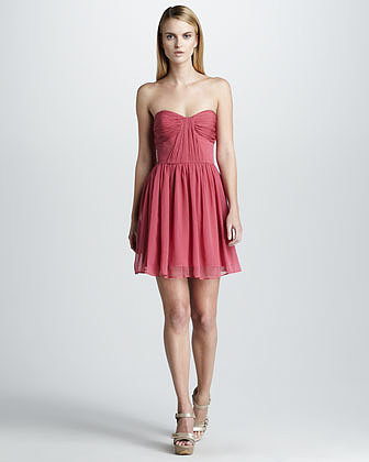 Erin Fetherston Strapless Sweetheart Dress