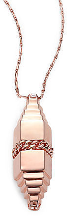 Eddie Borgo Bullet-Shape Pendant Necklace