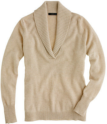 Collection cashmere shawl-collar sweater