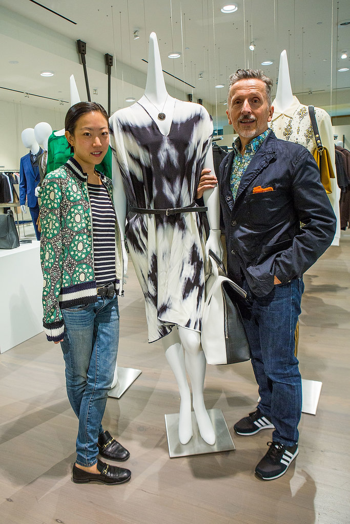 Tomoko Ogura and Simon Doonan hosted a Barneys breakfast at the Seattle store.