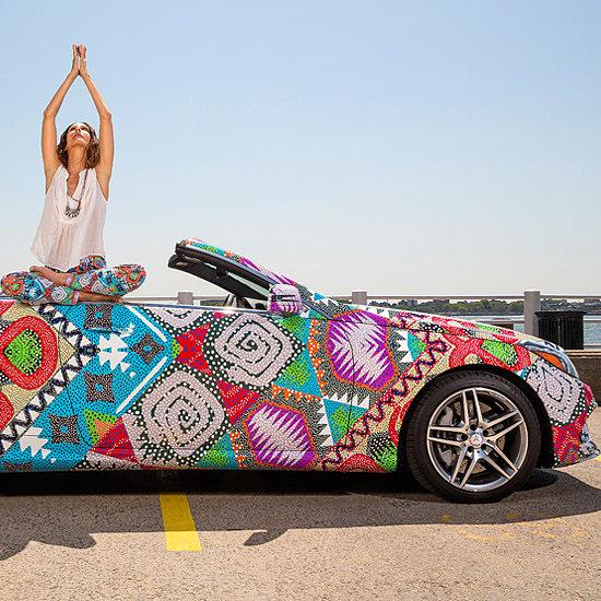 Bikini Designer Mara Hoffman's Mercedes Benz