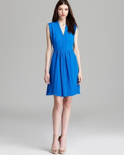 Rebecca Taylor V Dress - Pleated
