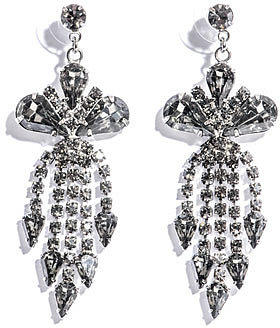 Tom Binns Madame Dumont chandelier earrings